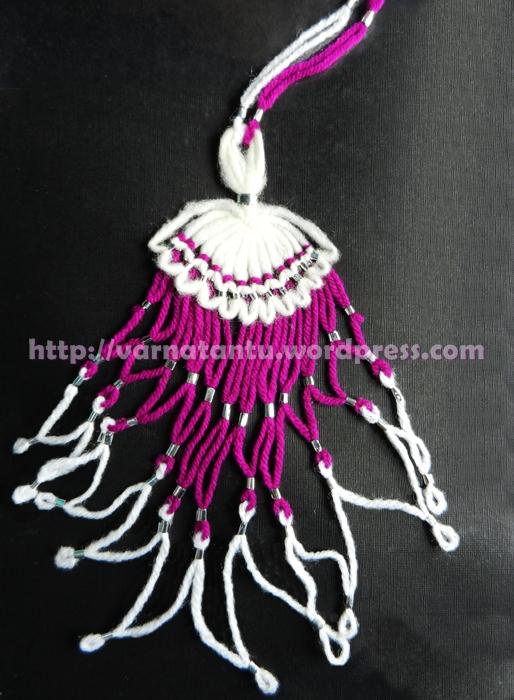 15T Fancy Thread Jewellery - Neck Piece/Pendant