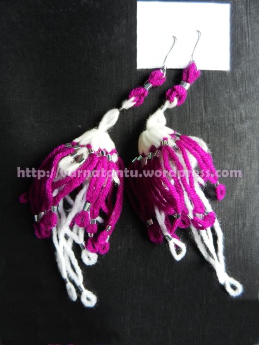 15T Fancy Thread Jewellery - Ear-hangings