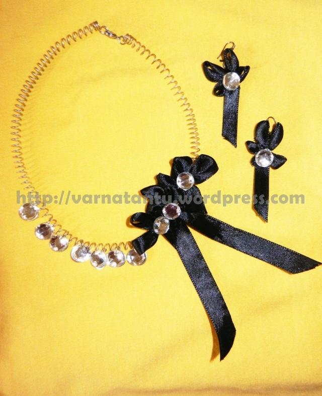 17T 4 Ribbon & Kundan Jewelry