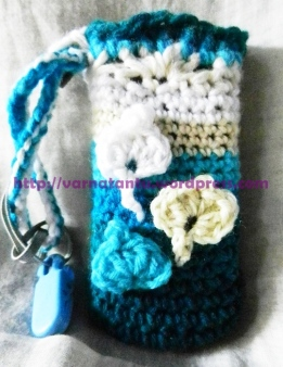 Crocheted Moblie Pouch