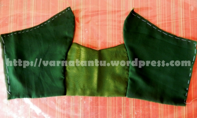 Princess Line Back Bodice - After Joining The Panels