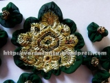 Ruffled Motif Patch Work By Gathering - Completed