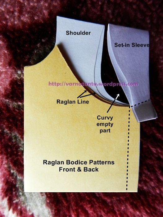 How To Make Raglan Bodice & Raglan Sleeves? (3/6)