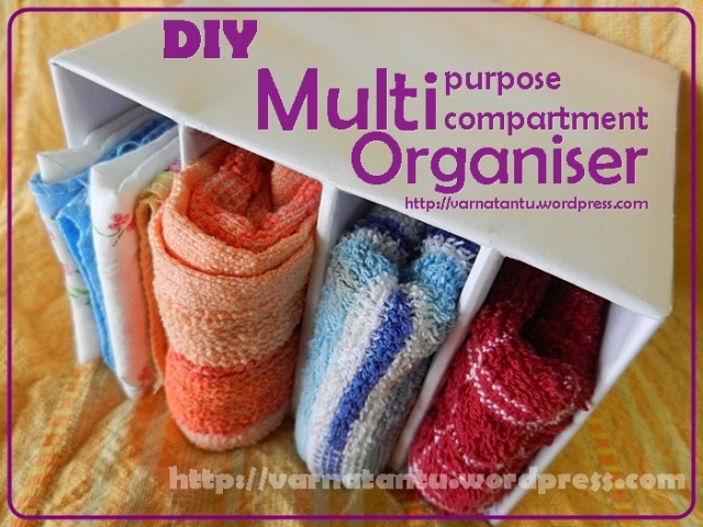 DIY Innerwear and Hanky  Organiser