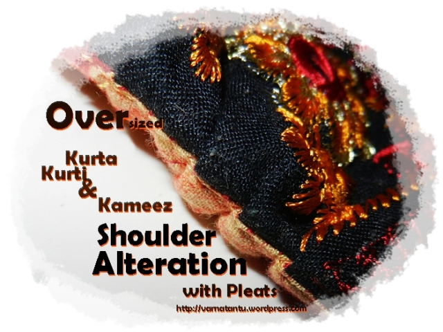 Kurta Shoulder Alteration - with Pleats