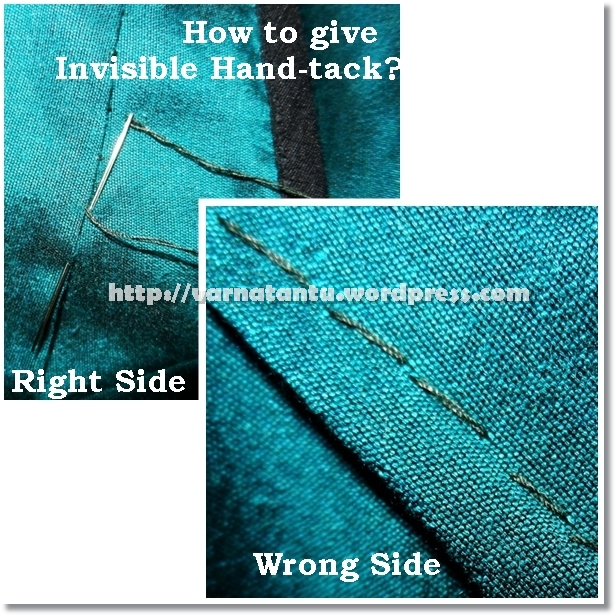 How to give invisible hand-tack