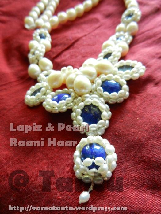 Lapiz & Pearls Raani Haar