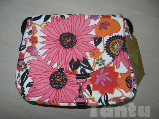 Floral Finesse Printed Bag by Crafts My Dream @ LimeRoad.com