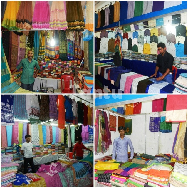 Proud Indians in Textile industry - Bengali Cotton, Handloom, Chikankari and Brocade respectively